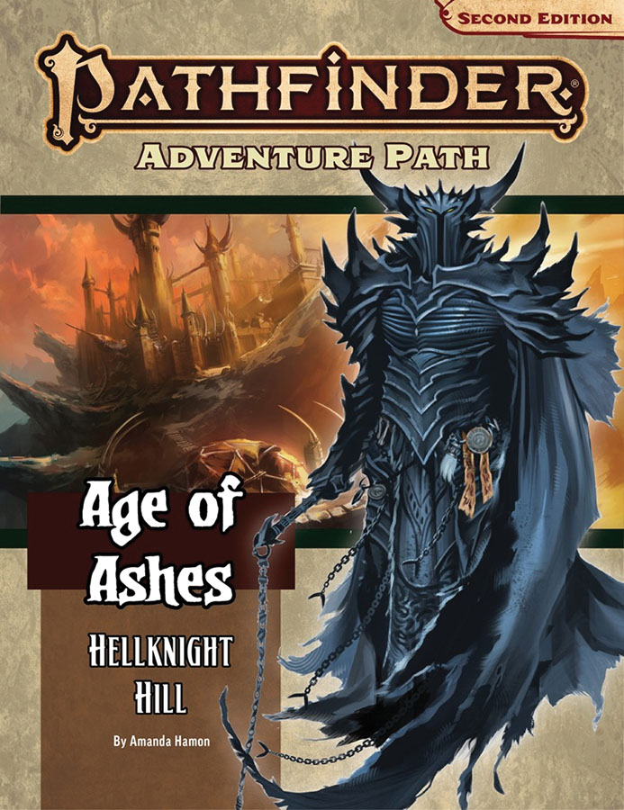 Pathfinder Rpg: Adventure Path - Age Of Ashes Part 1 - Hellknight Hill (p2) Game Box