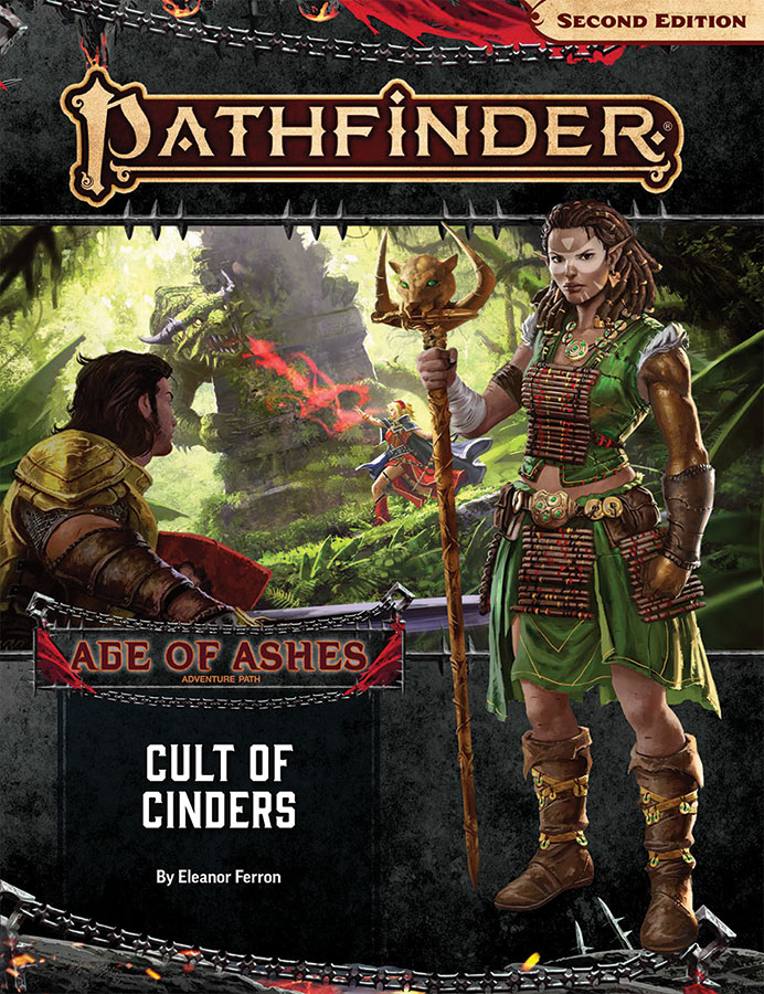 Pathfinder Rpg: Adventure Path - Age Of Ashes Part 2 - Cult Of Cinders (p2) Game Box