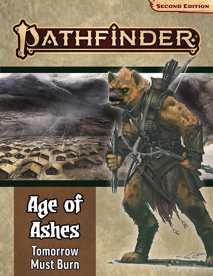 Pathfinder Rpg: Adventure Path - Age Of Ashes Part 3 - Tomorrow Must Burn (p2) Game Box