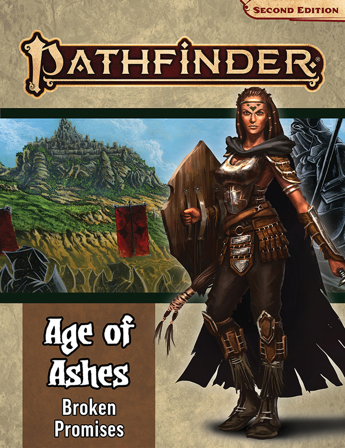 Pathfinder Rpg: Adventure Path - Age Of Ashes Part 6 - Broken Promises (p2) Game Box