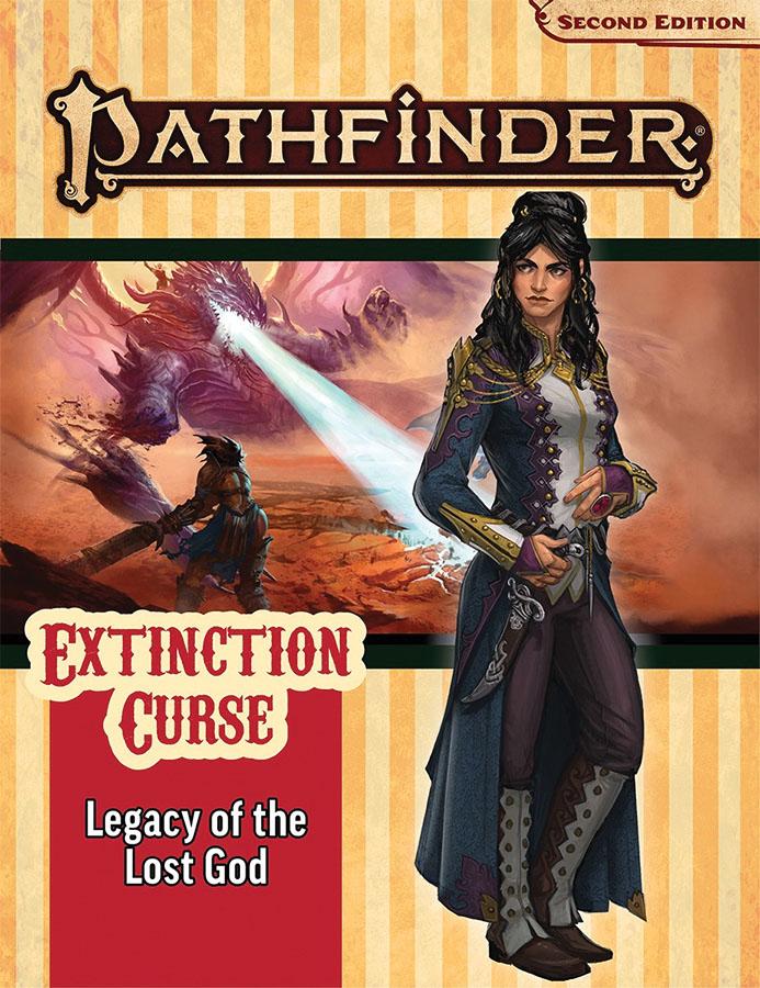 Pathfinder Rpg: Adventure Path - Extinction Curse Part 2 - Legacy Of The Lost God (p2)