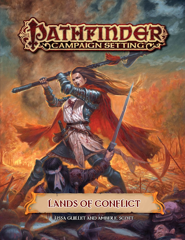Pathfinder Rpg: Campaign Setting - Lands Of Conflict Box Front