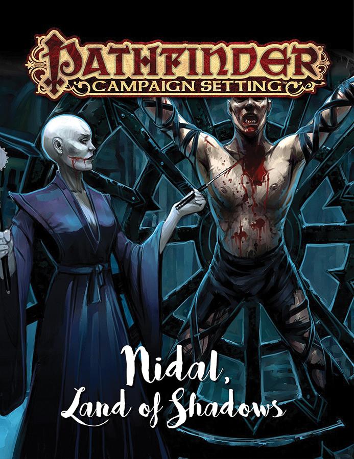 Pathfinder Rpg: Campaign Setting - Nidal Land Of Shadows Box Front