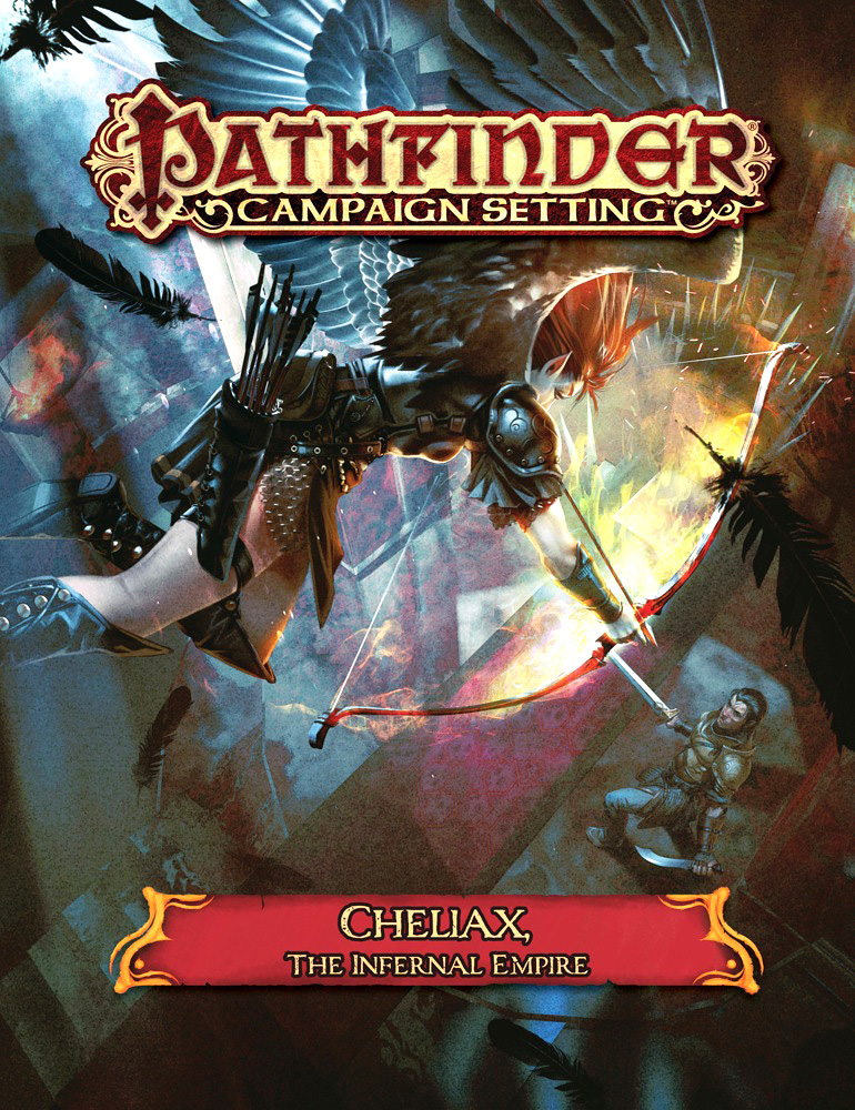 Pathfinder Rpg: Campaign Setting - Cheliax - The Infernal Empire Box Front