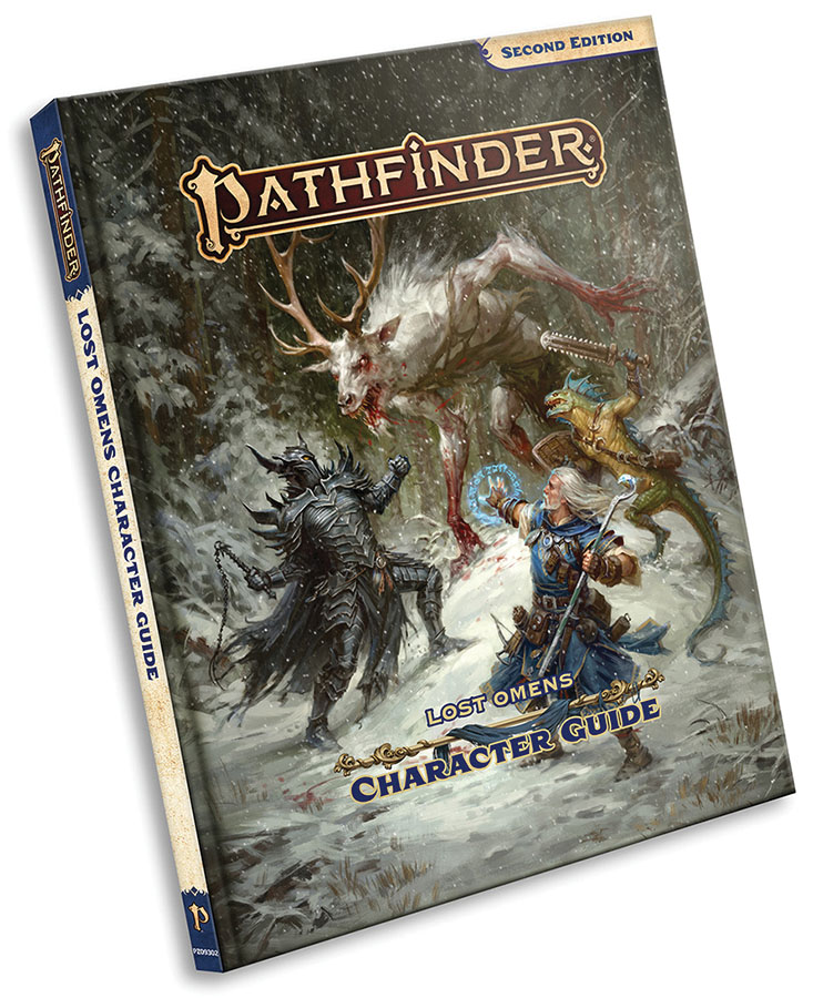 Pathfinder Rpg: Lost Omens Character Guide Hardcover (p2) Game Box