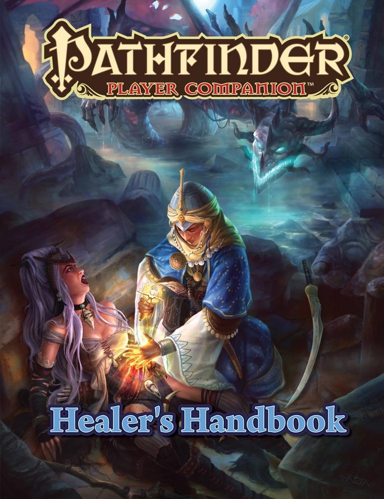 Pathfinder Rpg: Player Companion - Healer`s Handbook Box Front
