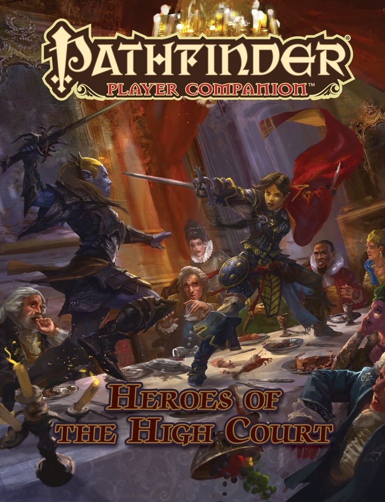Pathfinder Rpg: Player Companion - Heroes Of The High Court Box Front