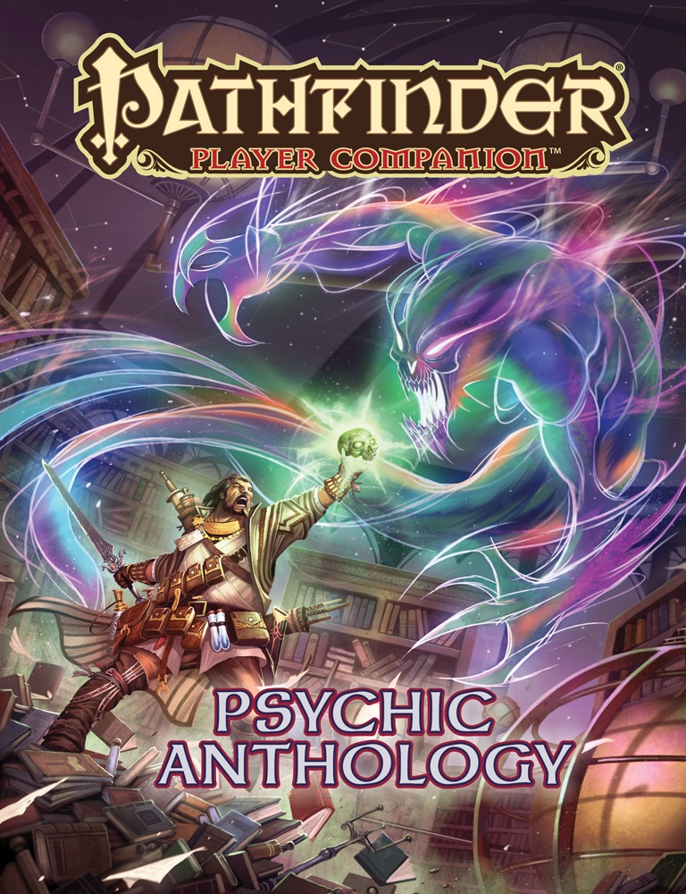 Pathfinder Rpg: Player Companion - Psychic Anthology Box Front
