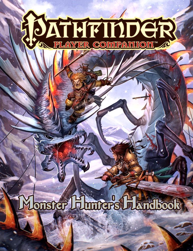 Pathfinder Rpg: Player Companion - Monster Hunter`s Handbook Box Front