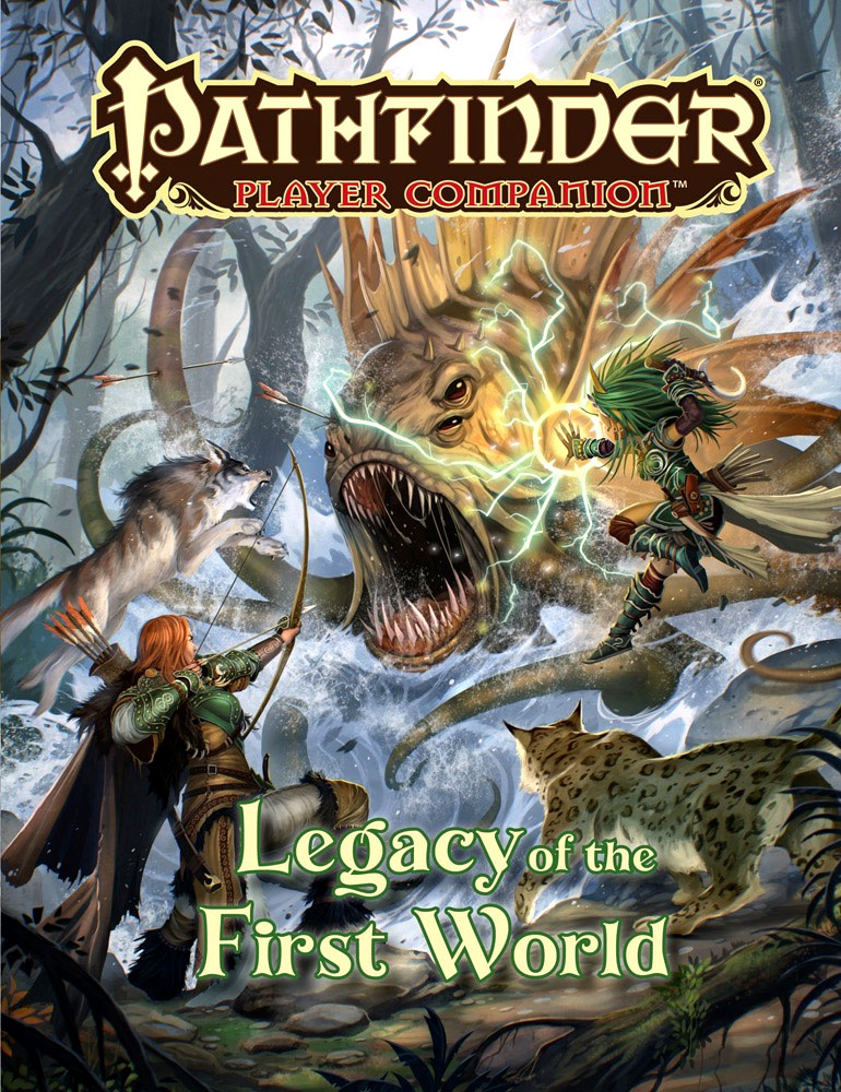 Pathfinder Rpg: Player Companion - Legacy Of The First World Box Front