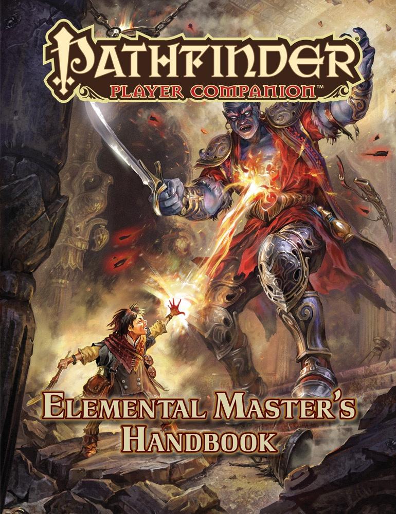 Pathfinder Rpg: Player Companion - Elemental Master`s Handbook Box Front