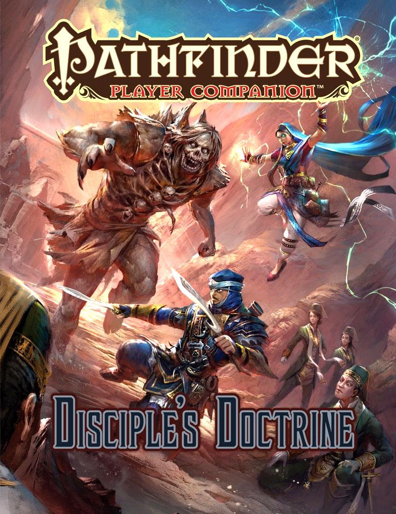 Pathfinder Rpg: Player Companion - Disciple`s Doctrine Box Front