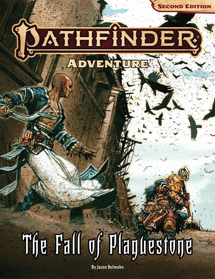 Pathfinder Rpg: Adventure - The Fall Of Plaguestone (p2) Game Box