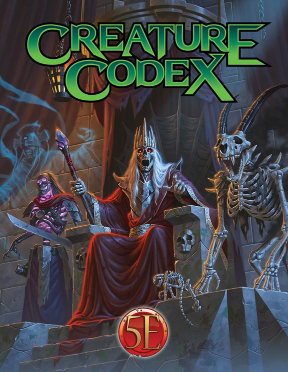 Dungeons And Dragons Rpg: Creature Codex Hardcover Box Front