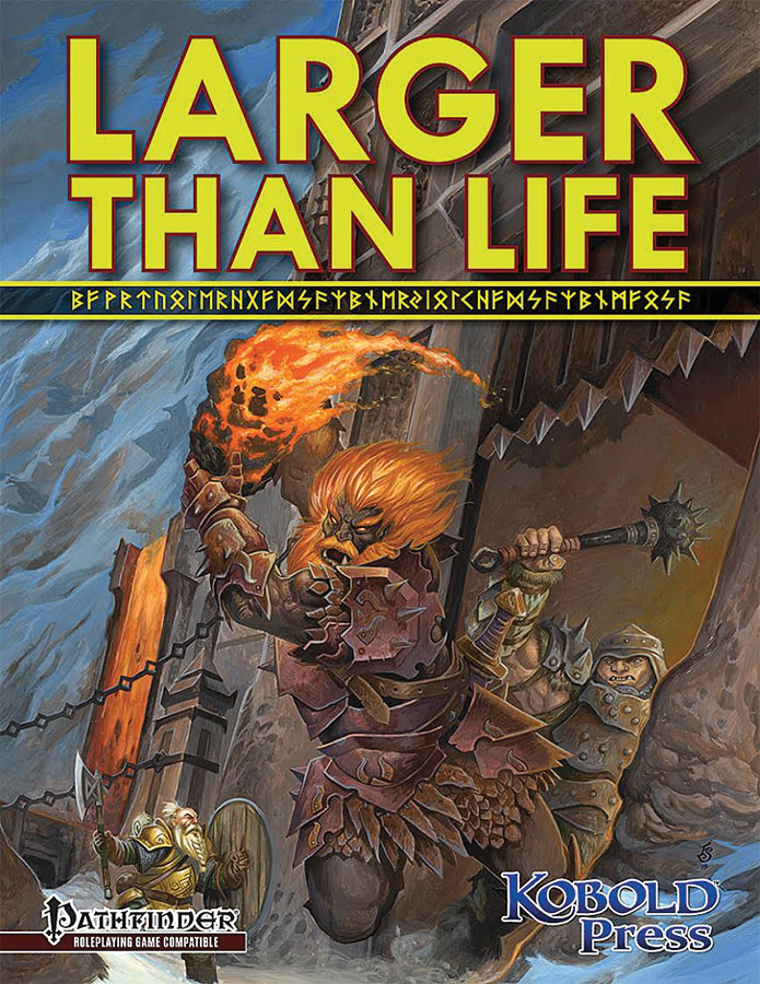 Pathfinder Rpg: Larger Than Life - Giants Box Front