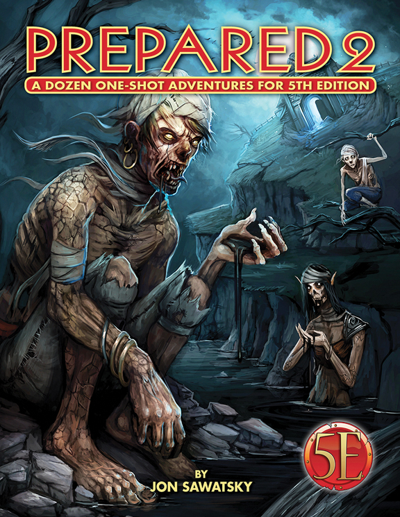 Dungeons And Dragons Rpg: Prepared 2 - Tombs And Dooms Box Front