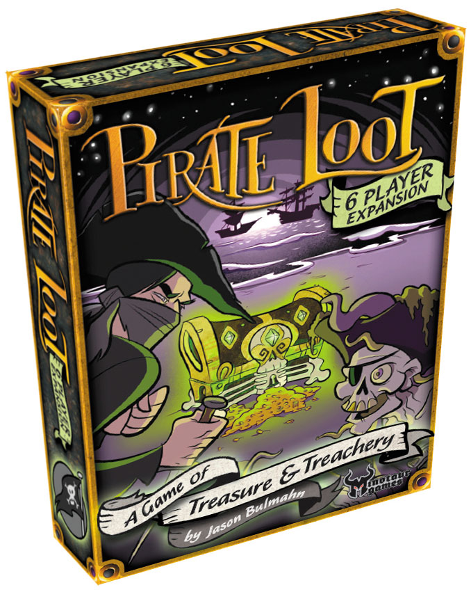 Pirate Loot: 6-player Expansion Box Front