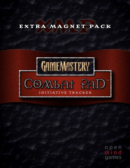 Gamemastery: Combat Pad - Extra Magnet Pack Box Front