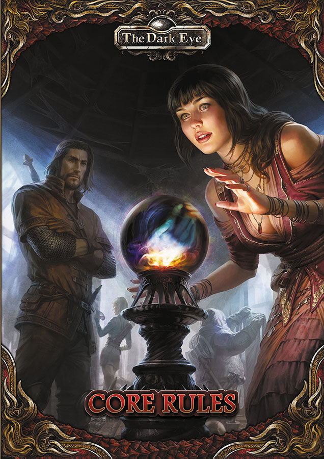 The Dark Eye Rpg: Core Rules Hardcover Box Front