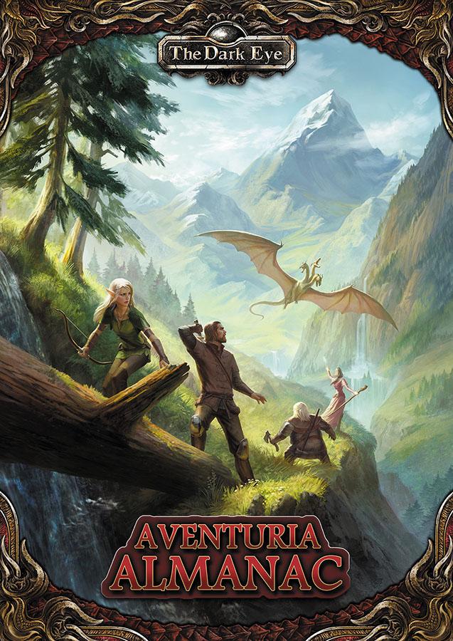 The Dark Eye Rpg: Aventuria Almanac Hardcover Box Front