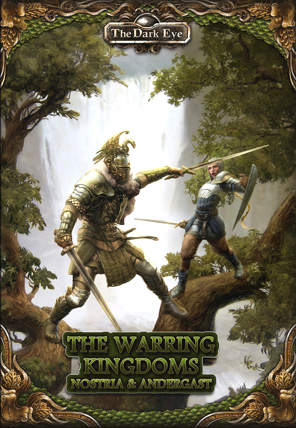 The Dark Eye Rpg: The Warring Kingdoms - Nostria And Andergast Hardcover Box Front