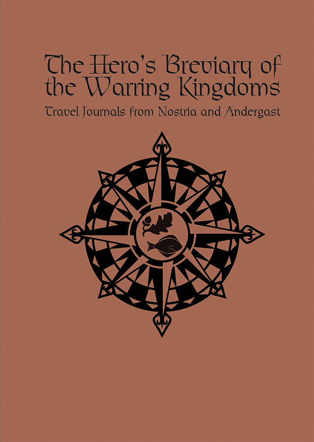 The Dark Eye Rpg: The Hero`s Breviary Of The Warring Kingdoms Hardcover Box Front