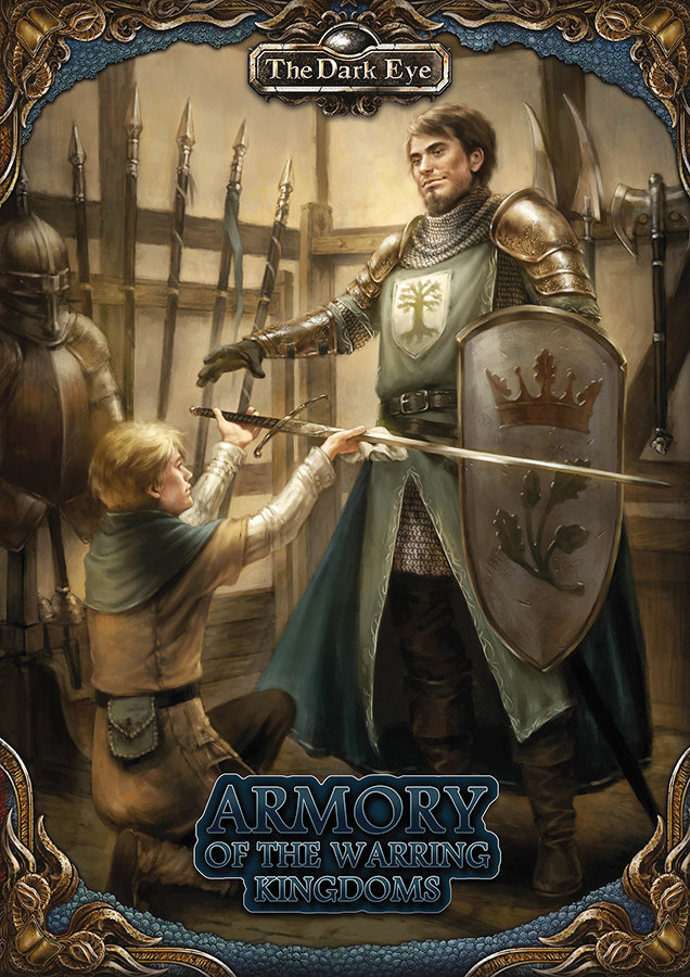The Dark Eye Rpg: Armory Of The Warring Kingdoms Box Front