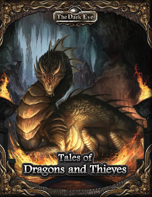 The Dark Eye Rpg: Tales Of Dragons And Thieves Box Front