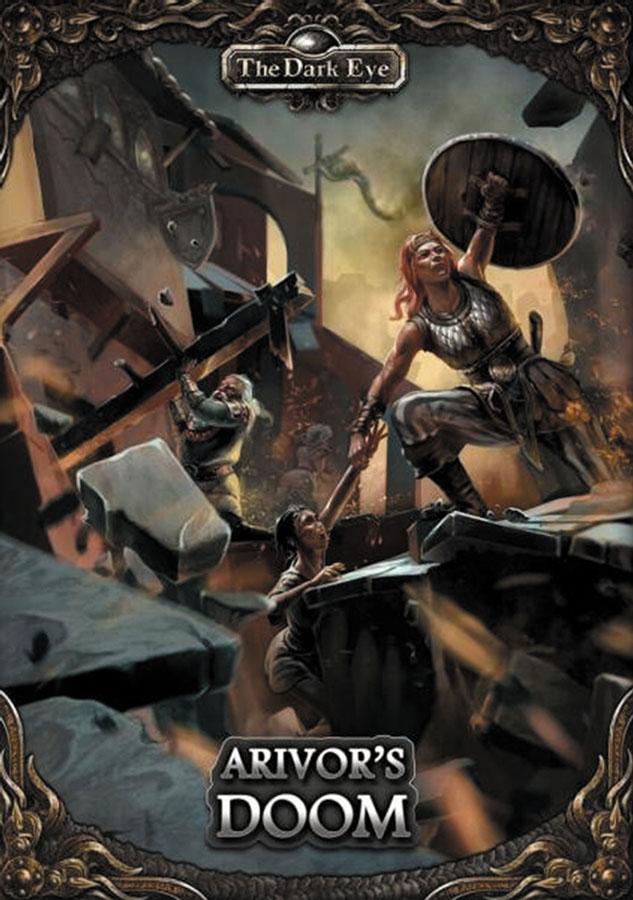 The Dark Eye Rpg: Arivor`s Doom Box Front
