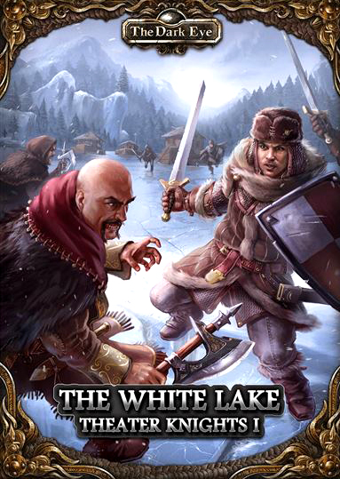 The Dark Eye Rpg: Theater Knights Part 1 - The White Lake Box Front
