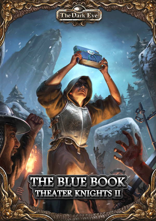 The Dark Eye Rpg: Theater Knights Part 2 - The Blue Book Box Front