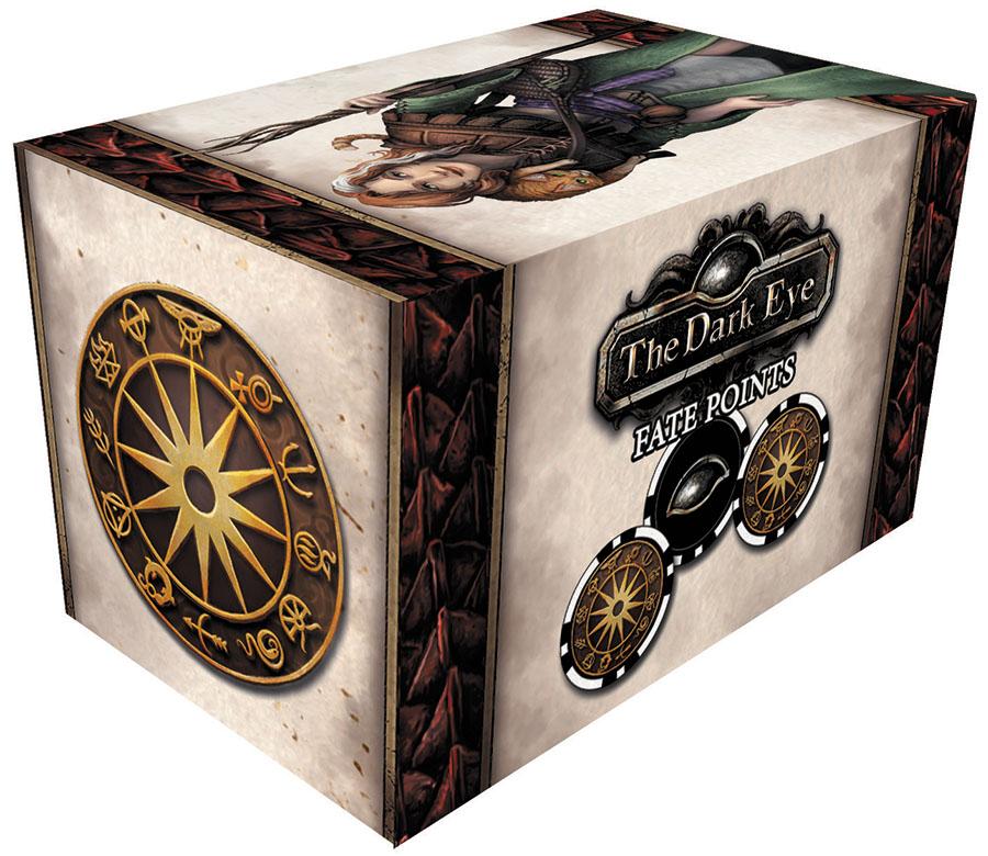 The Dark Eye Rpg: Fate Point Set Box Front