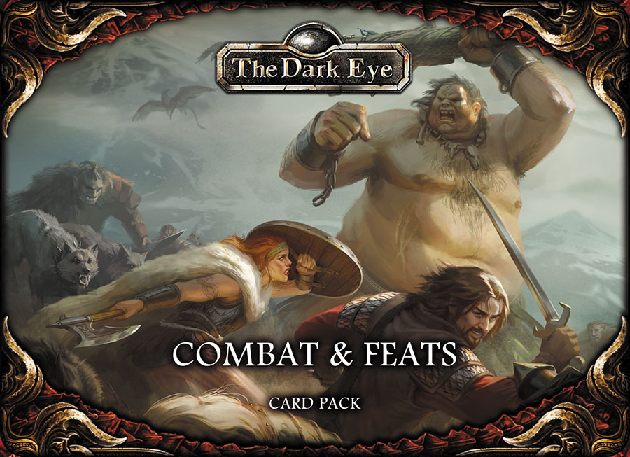 The Dark Eye Rpg: Combat And Feats Card Set Box Front