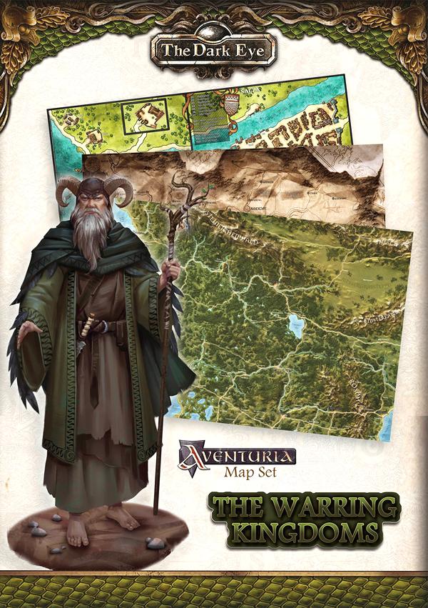 The Dark Eye Rpg: The Warring Kingdoms - Map Set Box Front