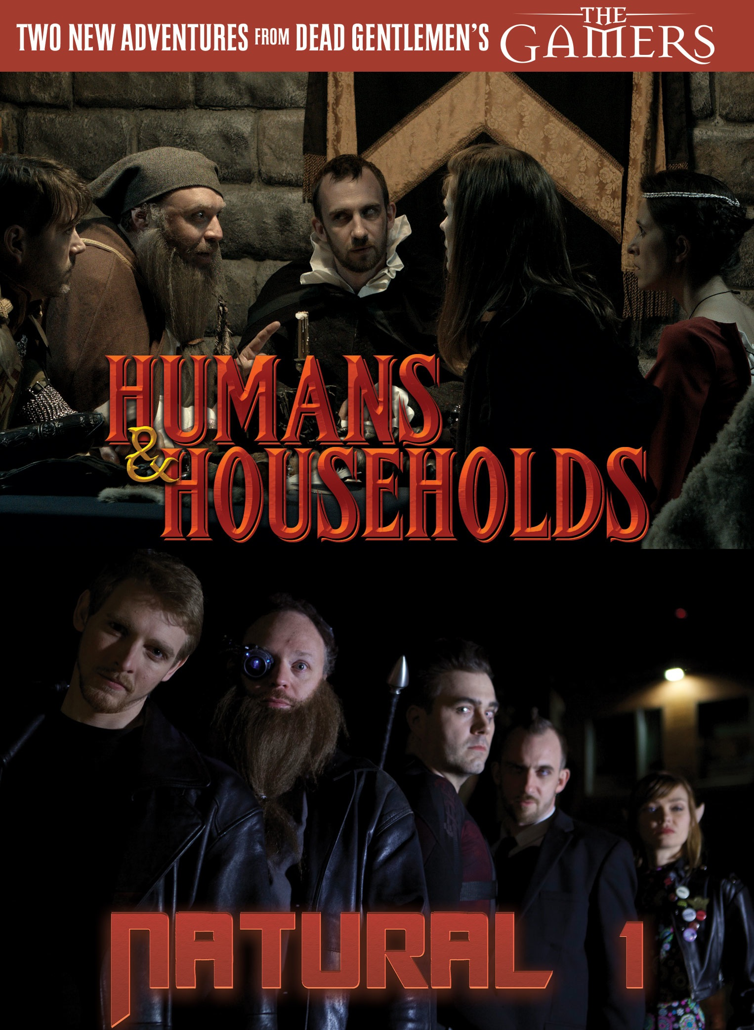 The Gamers: Humans And Households / Natural One Dvd Box Front