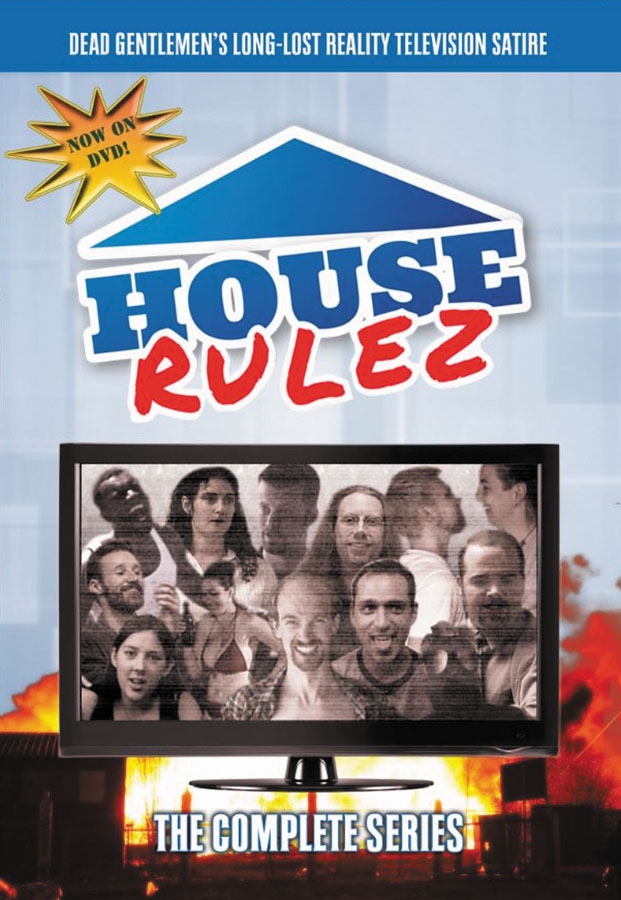House Rulez Dvd Box Front