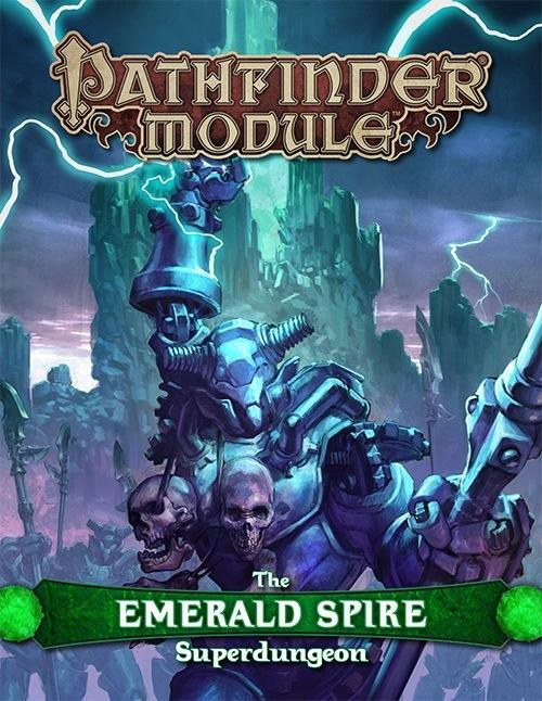 Pathfinder RPG - Module: The Emerald Spire Super-Dungeon