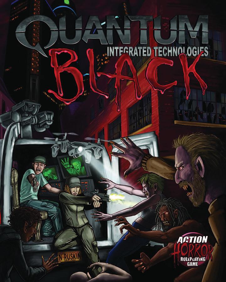 Ubiquity: Quantum Black Core Rules Revised Box Front