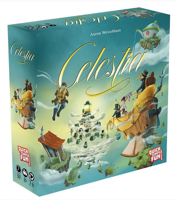 Celestia Box Front