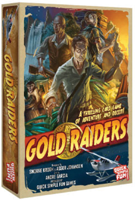Gold Raiders Box Front