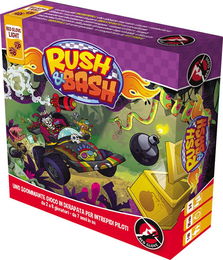 Rush And Bash Box Front
