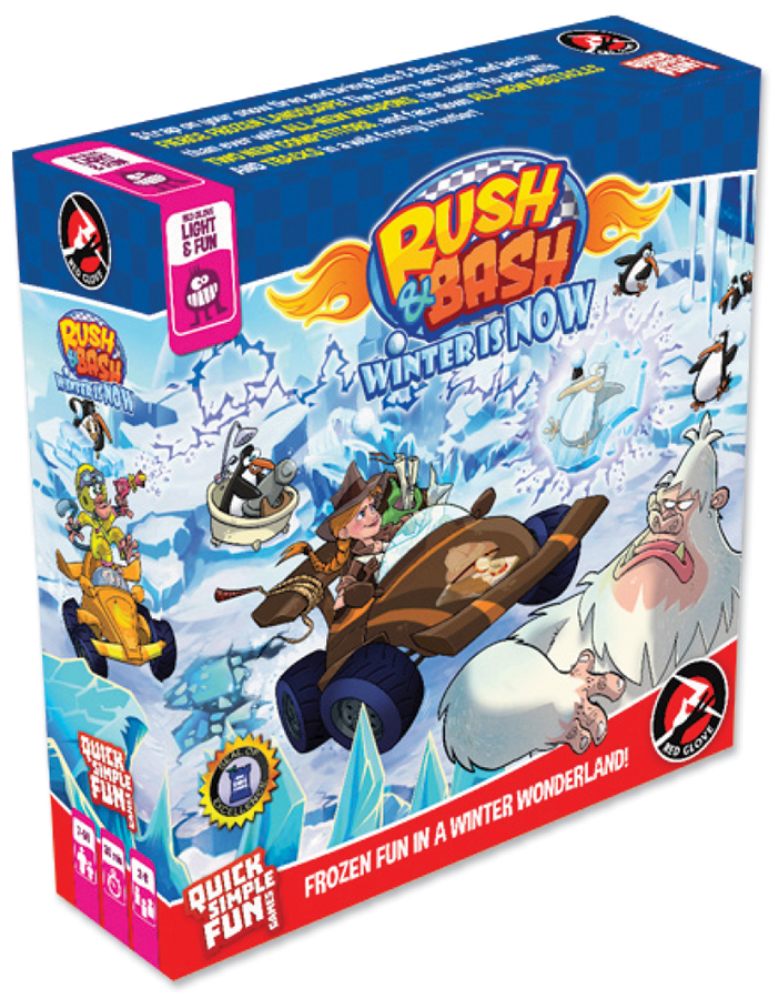 Rush And Bash: Winter Is Now Box Front