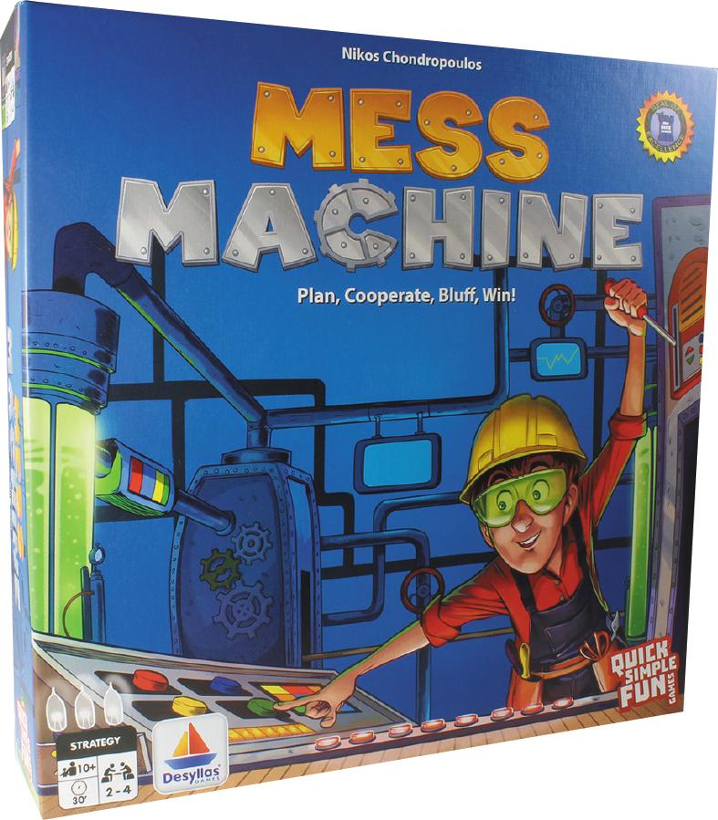Mess Machine Box Front