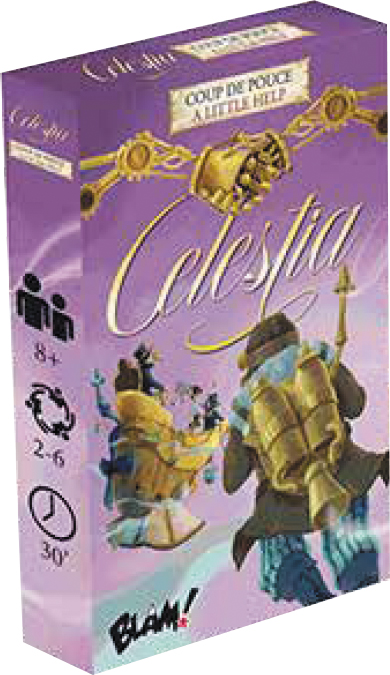 Celestia: A Little Help Box Front