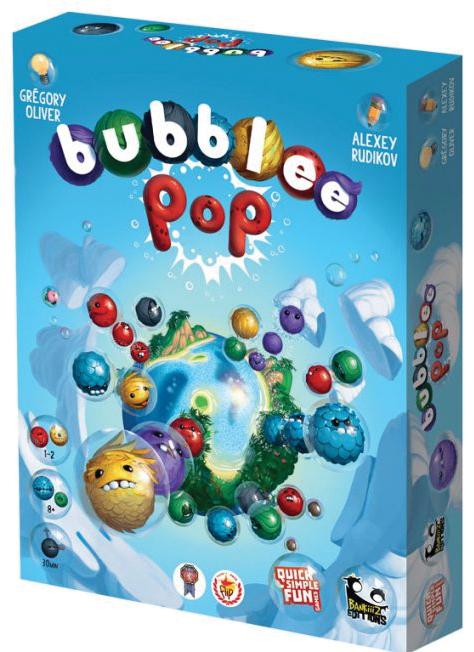 Bubblee Pop Box Front