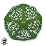 Cg Level Counter D20 Green/white Box Front