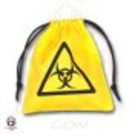 Dice Bag: Biohazard Yellow Box Front