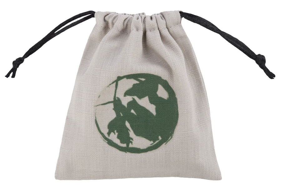 Legend Of The Five Rings Dice Bag: Mantis Clan Box Front