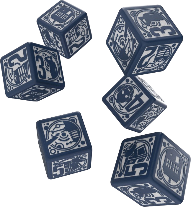 Doctor Who Rpg Deluxe Dice Set 6d6 Box Front