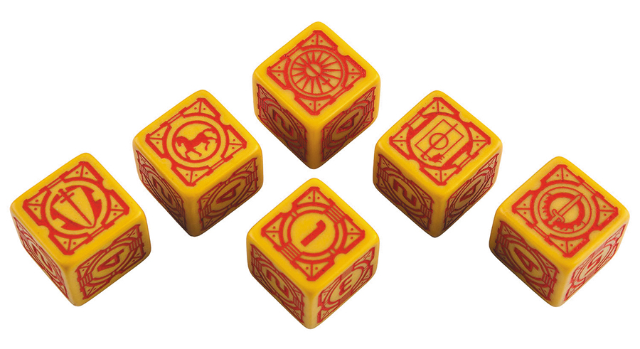Battletech House Davion D6 Dice Set (6) Box Front